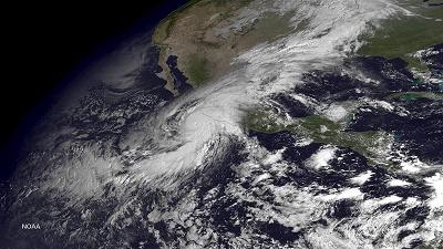 México se enfrenta al huracán 'Patricia', el 'más peligroso' de su historia