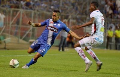 Emelec golea 4-2 a Liga de Loja en el estadio Reales Tamarindos