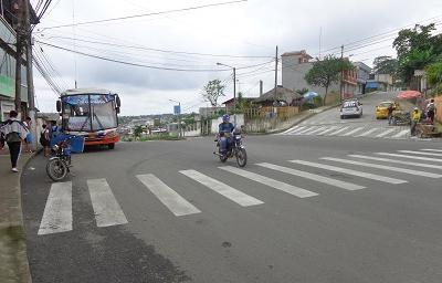 Solicitan un semáforo en la calle Manuel Collantes de la cooperativa Ciudad Nueva