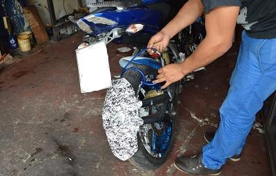 254 motos robadas en lo que va del año en Santo Domingo