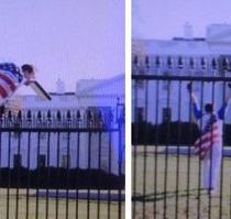 Saltó la verja de la Casa Blanca y fue detenido