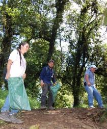 Hora y fecha para la minga contra la basura en el cerro de Montecristi