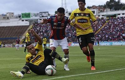 Barcelona y Deportivo Quito apoyan la huelga de futbolistas