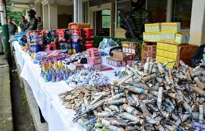 Inician operativos contra la venta de explosivos en Santo Domingo