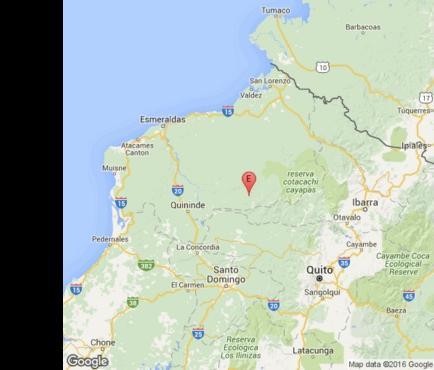 Un sismo de magnitud 5,4 sacude Esmeraldas