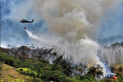 Anuncian 2,2 millones de dólares por incendios