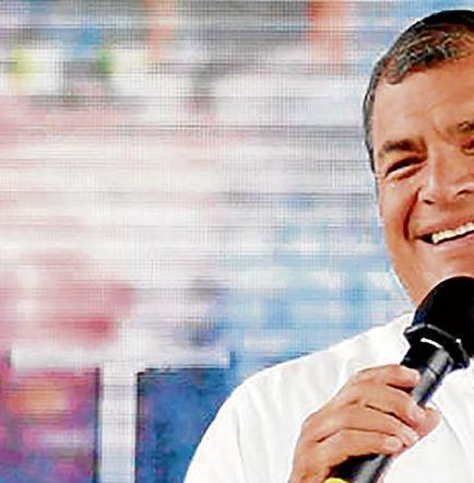 Correa dice que pagarán en enero