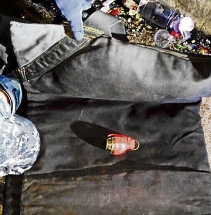 Granada mata a niña y deja cuatro heridos