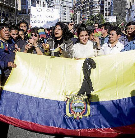 Más de 440 mil  Ecuatorianos hay en España