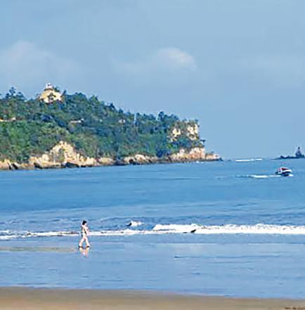 Periódico resalta belleza de playas