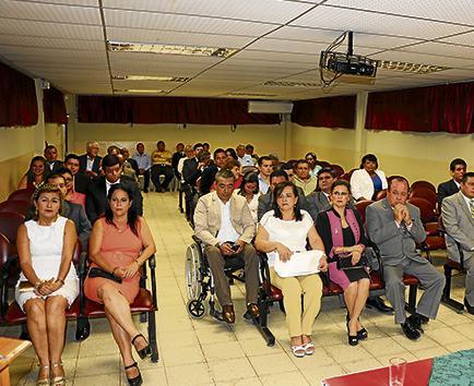 Sesión solemne por 35 años de creación