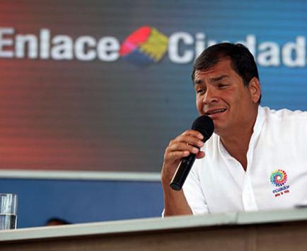 Correa anuncia cambios en prestación en el IESS