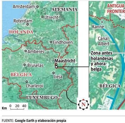 Bélgica y Holanda modificarán sus fronteras por curso de un río