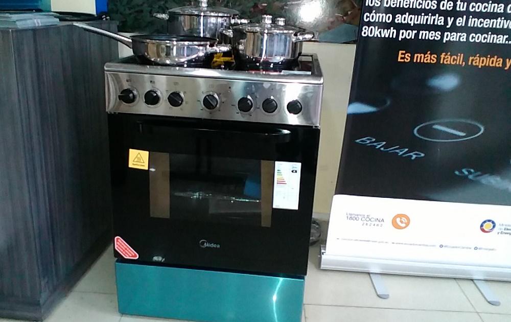 Cocinas de inducci n importadas se comercializan en santo for Cocinas induccion precios