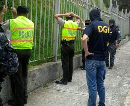 La policía combate la corrupción en sus filas