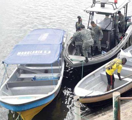 Capitanía mantiene búsqueda de pescadores desaparecidos