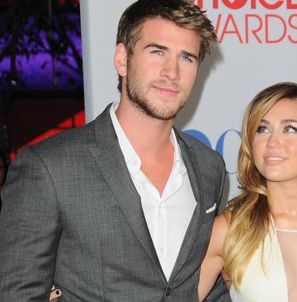 Miley Cyrus y Liam Hemsworth recibieron juntos el Año Nuevo