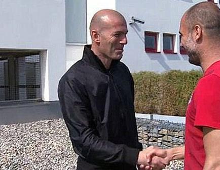 Pep Guardiola: 'Le deseo a Zidane lo mejor posible pero no lo perfecto'