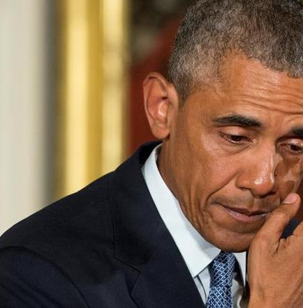 Obama llora al recordar a los niños que murieron en la masacre de Newtown