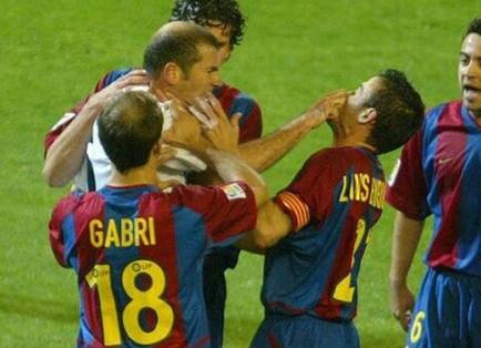 Zinedine Zidane y Luis Enrique: ¿una cuenta pendiente? (VIDEO)
