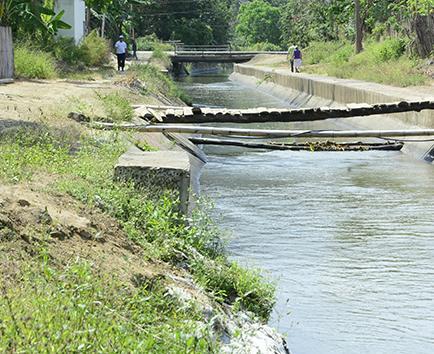 5 días sin agua en cuatro cantones