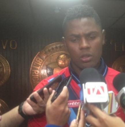 Marlon de Jesús vestirá la camiseta de El Nacional