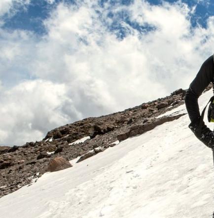 Ecuatoriano inquieto y motivado para correr en la Antártida a menos 20 grados