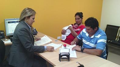 Inscripciones se registraron en oficinas del for Oficinas registro civil