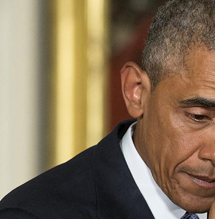 Obama llora  al recordar a niños muertos