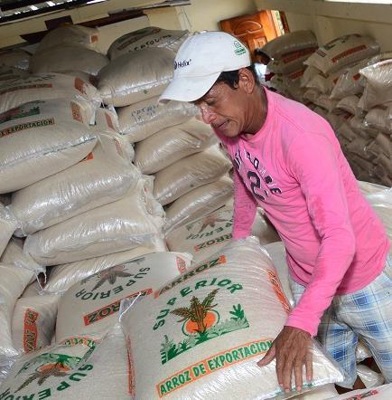 Preocupación por la poca venta del arroz