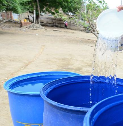A guardar el agua para corte de 5 días