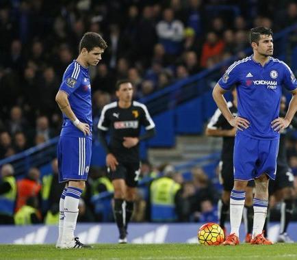 Diego Costa y Oscar se pelean en el entrenamiento del Chelsea