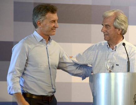 Macri y Vázquez alcanzan acuerdos en medioambiente, energía y puertos