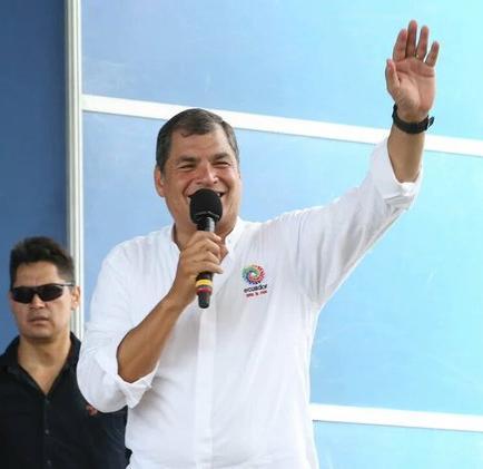 Correa sobre la oposición: 'Quieren hacer algo similar a lo de Venezuela'