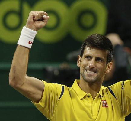 Djokovic se medirá a Rafa Nadal en la final de Doha