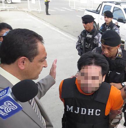 Geovanny L. seguirá preso por caso Sharon