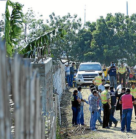 Policía y Fiscalía  reconstruyen la escena de un asesinato