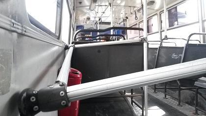 Critican estado de buses urbanos