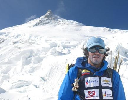Ecuatoriano busca 7 montañas de 8.000 metros para cumplir con reto