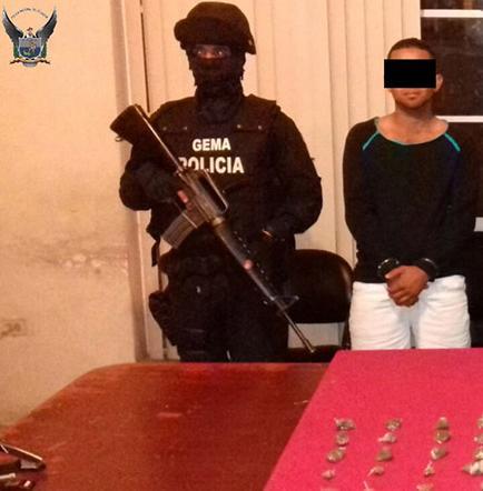 5 presuntos traficantes detenidos