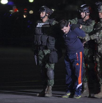 'El Chapo' Guzmán fue trasladado al penal del que se fugó