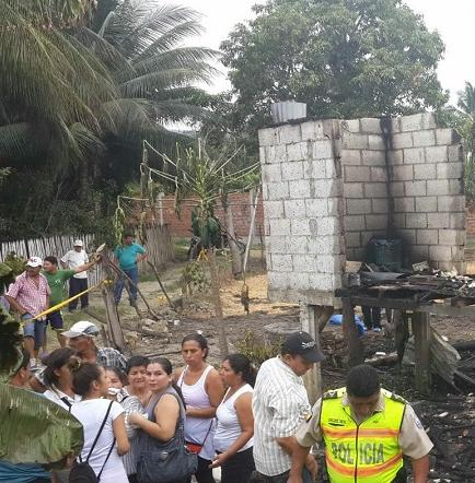 Una mujer muere durante un incendio en el cantón Rocafuerte