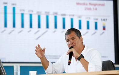 Correa propone cambios en pensiones alimenticias