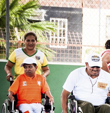 Proyecto con familias llegó a 2.200 personas  con discapacidad