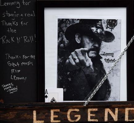 El último bourbon por Lemmy y Motörhead
