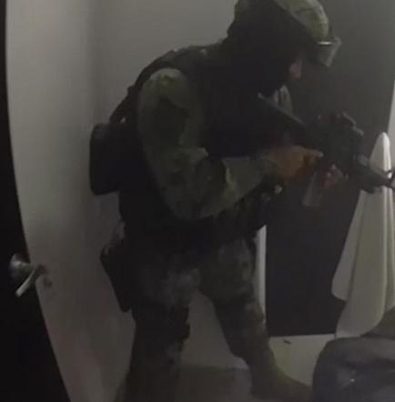 La casa del 'Chapo' en Los Mochis, preparada para la huida con túnel secreto