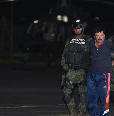 Formalizan detención de 'El Chapo' para iniciar proceso de extradición