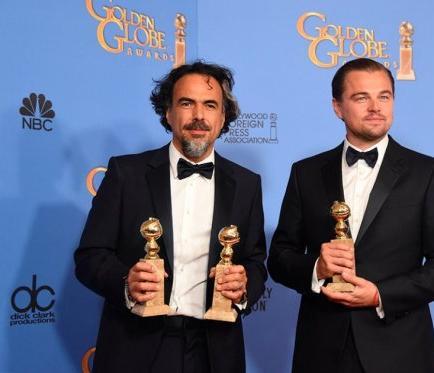 'The Revenant' conquista los Globos de Oro y abona el terreno para los Óscar