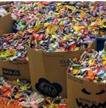 Lo detienen por robar más de 3 mil kilos de caramelos