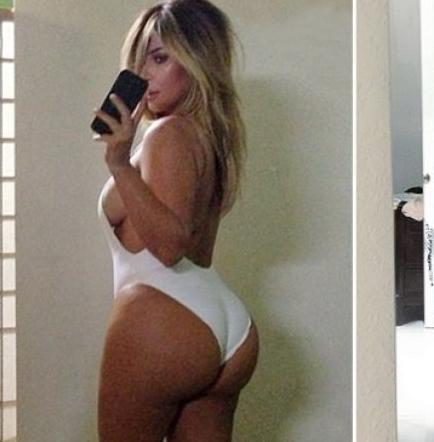 Gastó más de $10 mil para tener el trasero de Kim Kardashian